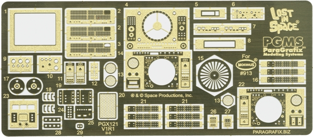 Jupiter 2 Photoetch & Decal Set