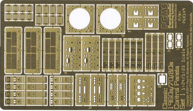 Classic 1960s, 70s, and 80s Control Panels, Set 1