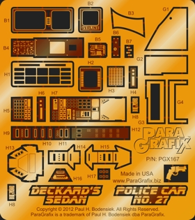 Deckard's Sedan / Police Car No. 27 by ParaGrafix