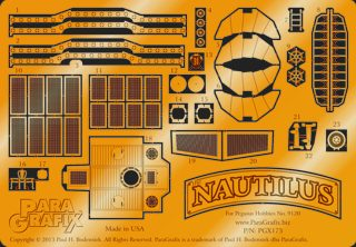 Nautilus Photoetch Set by ParaGrafix