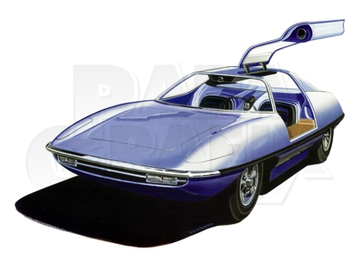 Piranha Super Spy Car etch from ParaGrafix