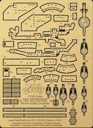 TOS Enterprise Window Drilling Templates