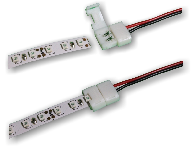 Easy LED Clamshell Connectors