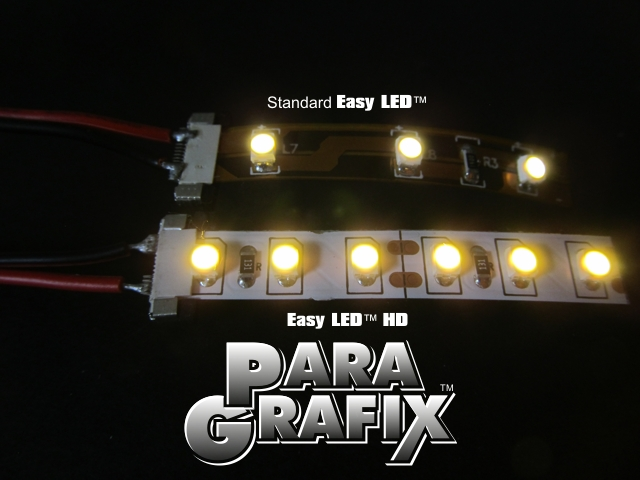 Twice the number of LEDs as standard Easy LED!